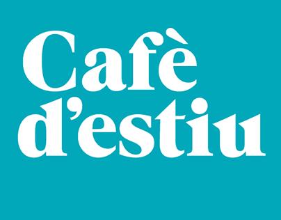 Talking Design Studio diseña la imagen del Café d'estiu