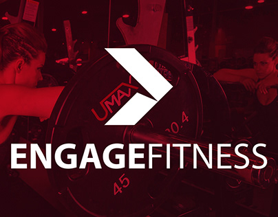 Engage Fitness Logo and Web Banners