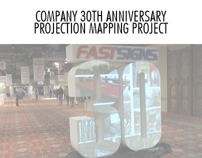 COMPANY ANNIVERSARY PROJECTION MAPPING PROJECT