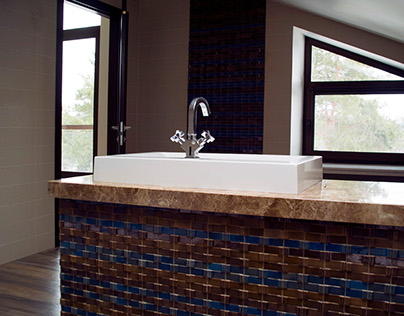 Tile design for 2 Bathrooms