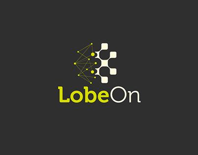 LobeOn logo and business card proposal
