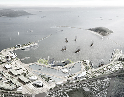 Seaweed Pavilion for Yeosu Expo 2012