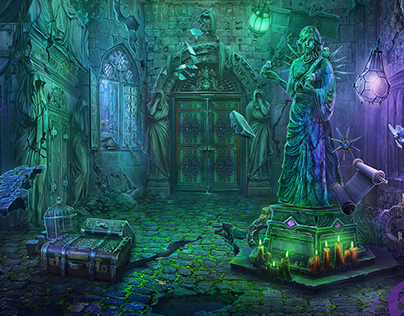 Art for Dark Parables: Requiem for the Forgotten Shadow