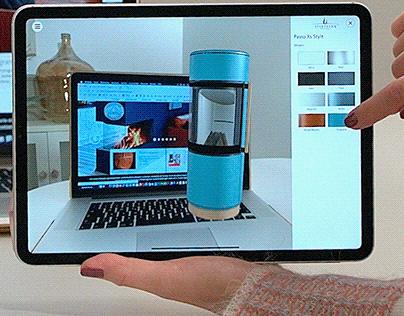 AR Stove Configurator Augmented Reality app