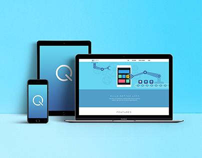 QOIOS // Logo, Website, Illustration