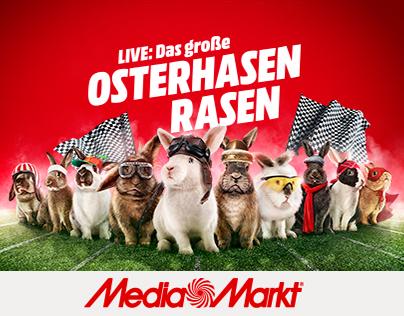Das grosse Osterhasen Rasen von Media Markt