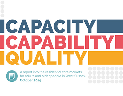 Capacity, Capability and Quality Report