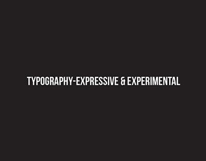 GWDA212  Typography-Expressive & Experimental
