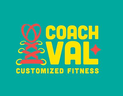 Logo Design - Coach Val