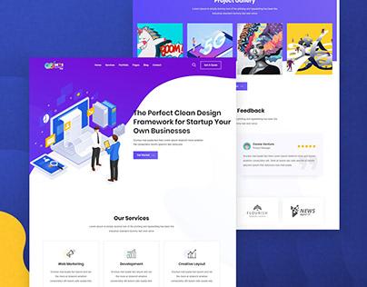 Responsive Wordpress Website with Elementor Pro