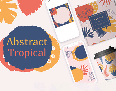 Abstract tropical.