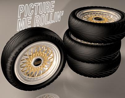 Speed Modeling 004 - Car Rims