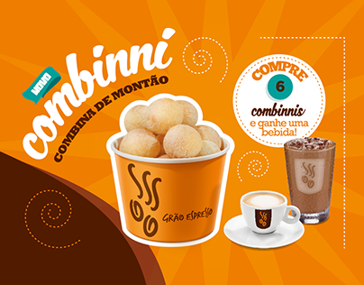 Combinni's Creative Direction for Grão Espresso
