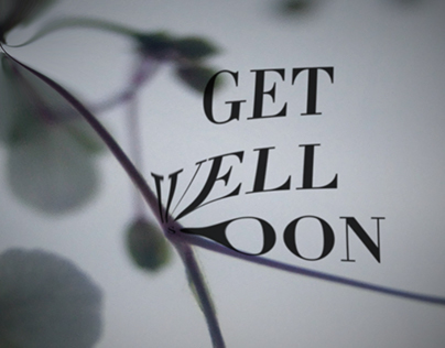 Get Well Soon tour documentation 2008 – title design