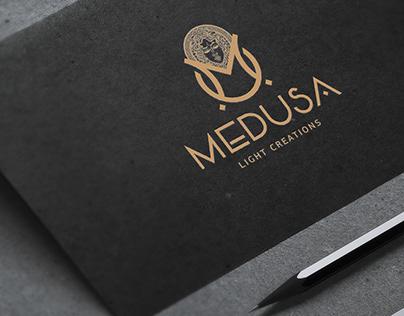 MEDUSA Light Creations Logotype