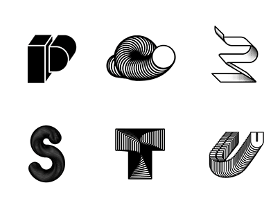 36 Days of Type #02 / Experiments