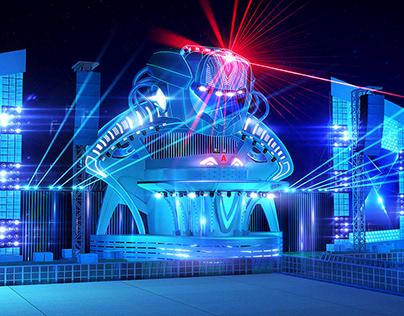 Alfa Future People 2014 stage design