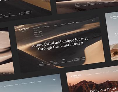 Travel Website Kamkam Dunes