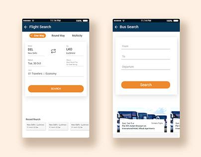 Travel App Ui&UX