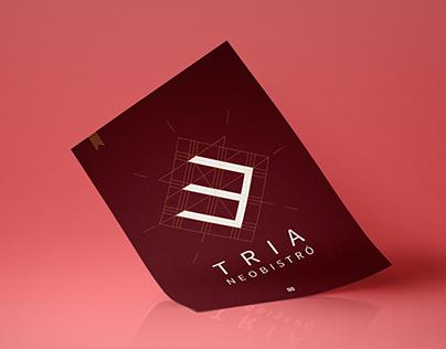 Tria Neobistro - Brand Design