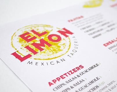 El Limon Restaurant Brand Identity