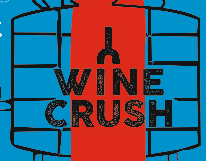 Wine Crush - annual wine event poster