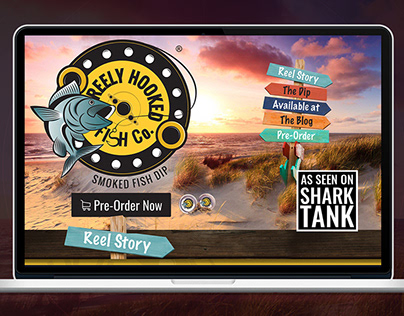 Reely Hooked Fish Co. - UI/UX Design