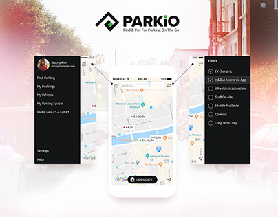 Parkio app