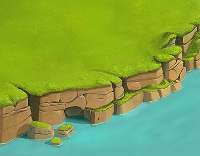 Green terrain