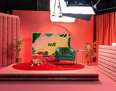 Tefi Set Design