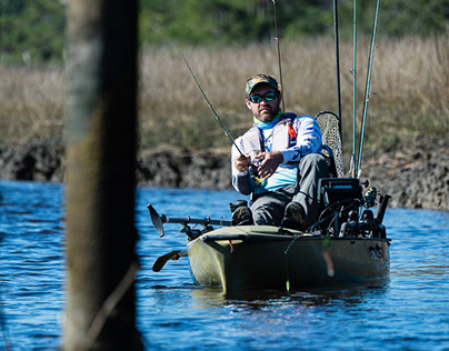 On the water with Hobie Pro Justin Carter
