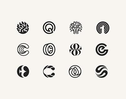 Circular logomarks