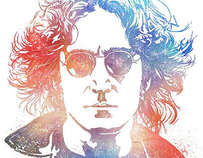 Officially Licensed John Lennon art