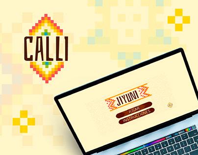 CALLI - UX Design