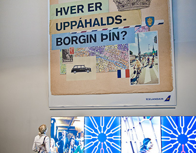 City Campaign for Icelandair