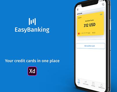 EasyBanking App concept