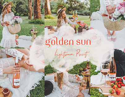 Golden Sun Lightroom Preset