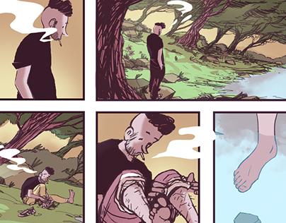 Comic Book Page Study