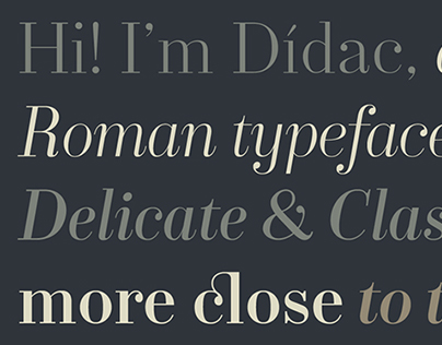 Dídac (Available Now on Fontstore!)