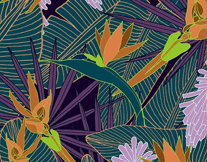 Paradise - print pattern