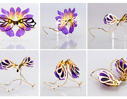 Blooming jewelry collection