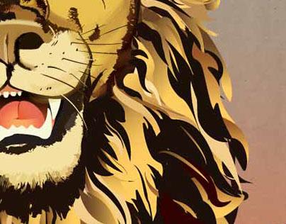 Den of Lions - Mock Poster