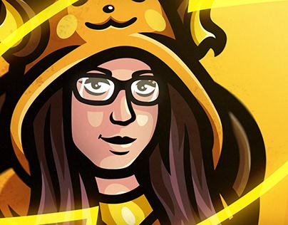 Raichu | Mascot logo