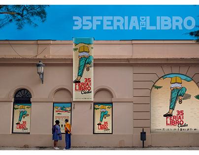 Imagen para la 35 Feria del Libro Cádiz