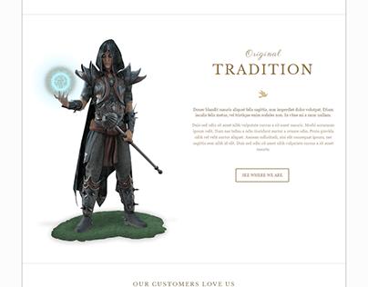 Be-Theme Customization
