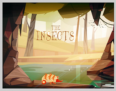 Robot Insects Rigging and Animation