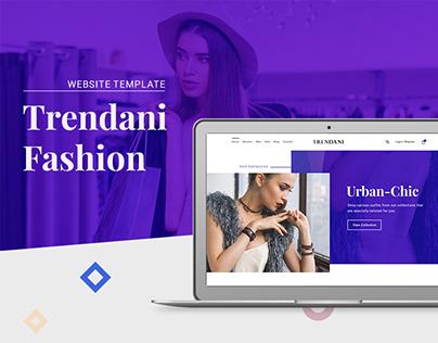 Trendani // Website template