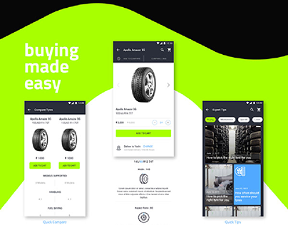 FITKAR - Ecommerce app to shop tyres