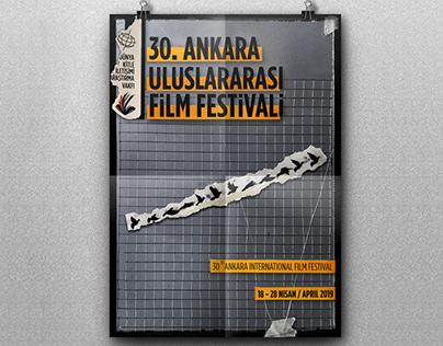 30. Ankara International Film Festival - Poster Design