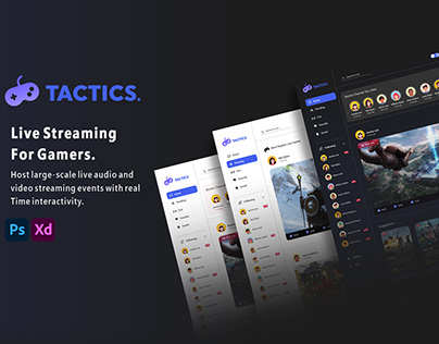 TACTICS - Live Streaming For Gamers .
